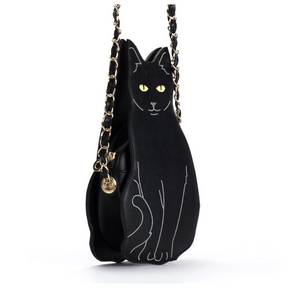 Gifts for Crazy Cat Ladies, Cat Shaped Bag for Her