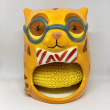 Load image into Gallery viewer, Cat Themed Kitchen Decor, Cat Shaped Sponge Holder