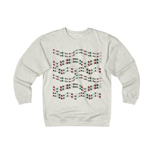 Load image into Gallery viewer, Pick this funny cat Christmas sweater for men as a unique Christmas gift for cat lovers. The cat sweater features red white and green cats.