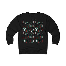 Load image into Gallery viewer, nique Christmas Gifts for Cat Lovers, Ugly Cat Christmas Sweater for Men Featuring a String of Red Green and White Cats