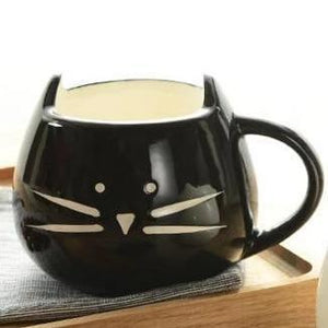 Cat Shaped Coffee Mug for Cat Lovers