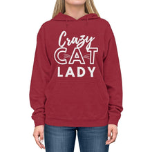 Load image into Gallery viewer, Gifts for Crazy Cat Lovers, Crazy Cat Lady Hoodie