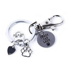 Load image into Gallery viewer, Stainless Steel Cat Key Chain for Cat Lovers