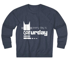 Load image into Gallery viewer, Clothes for Cat Lovers, Every Day Is Caturday Cat Lover Sweater