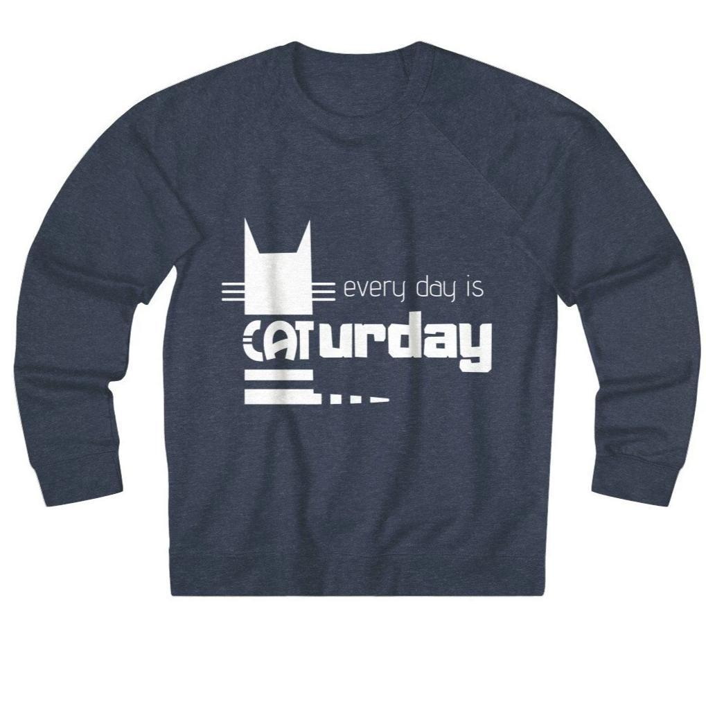 Clothes for Cat Lovers, Every Day Is Caturday Cat Lover Sweater