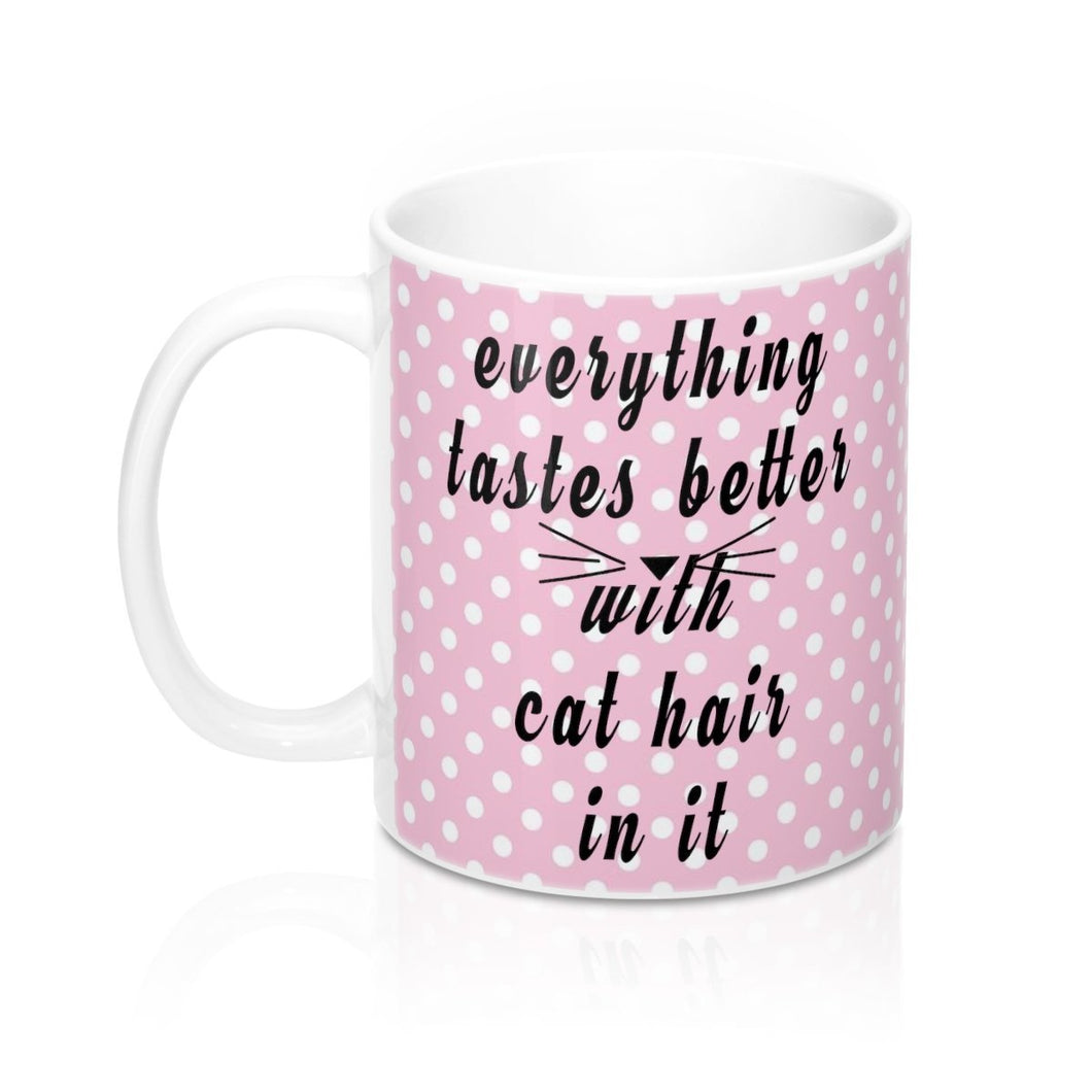 Novelty Gifts for Cat Lovers, Funny Cat Mugs, Cat Coffee Mug with the Text