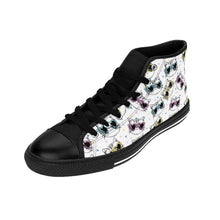 Load image into Gallery viewer, Cute Cat Themed Shoes, One of a Kind Cat Sneakers Featuring Colorful Cats with Glasses