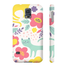 Load image into Gallery viewer, Stuff for Cat Lovers, Cute and Colorful Cat Phone Case