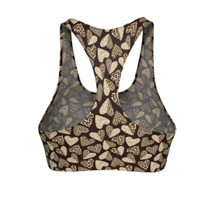 Cat Clothes for Humans, Animal Print Sports Bras