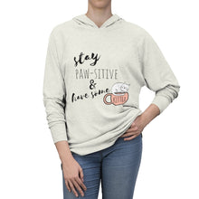 Load image into Gallery viewer, Cat Themed Apparel, Cat Lover Sweatshirt Featuring The Words Stay Calm And Have Some Kittea