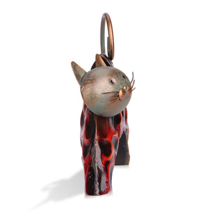 Gifts for Cat People, Lazy Cat Metal Figurine