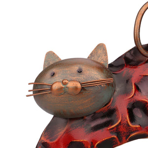 Cat Lover Gifts, Lazy Cat Metal Figurine