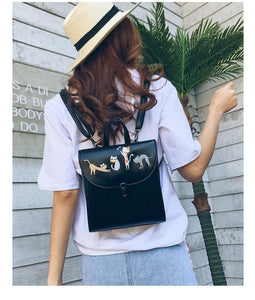 Cat themed apparel, Lazy Cats Backpack