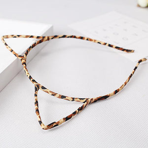 Cute Cat Gifts, Leopard Cat Ears Headband