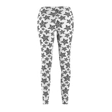 Load image into Gallery viewer, Clothes for Cat Ladies, Black and White Cat Print Leggings