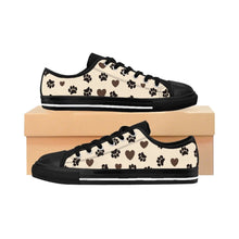 Load image into Gallery viewer, Cat Shoes, Leopard Print Sneakers for Cat Ladies
