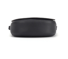 Load image into Gallery viewer, Hard Bottom of a Black Cat Purse