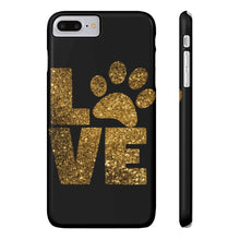 Load image into Gallery viewer, Love Paw Prints Phone Case