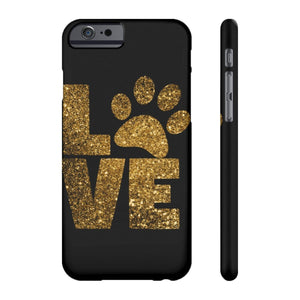 Love Paw Prints Phone Case
