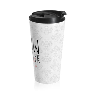 Cute Travel Mugs, Gifts for Cat Lovers, Meow Or Never Cat Travel Mug