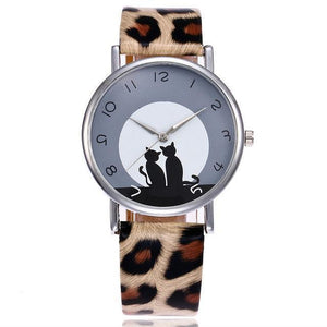 Cat Lover Gifts, Moony Cats Watch