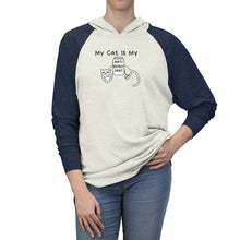 Load image into Gallery viewer, Funny Cat Shirt for Women with the Words My Cat Is My Antidepressant Printed On The Front
