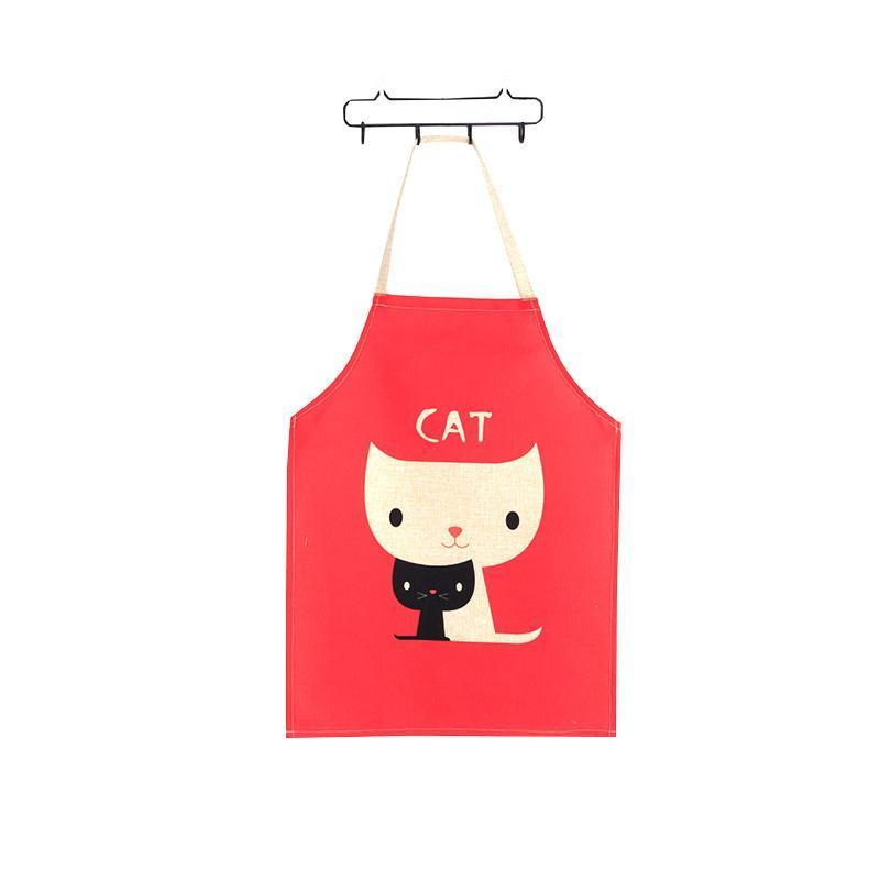 Cat Decorations for Home, Pair of Cats Cooking Apron