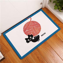 Load image into Gallery viewer, Playful Cat Floor Mat