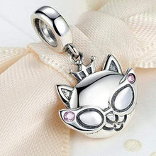 Load image into Gallery viewer, Cat Charm, Princess Cat Charm