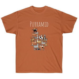 Funny Cat Lover Shirts, Purramid Cat T-Shirt