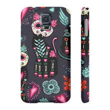 Load image into Gallery viewer, Cute accessories for cat lovers, Skeleton Cat Phone Case
