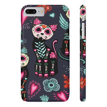 Load image into Gallery viewer, Skeleton Cat Phone Case