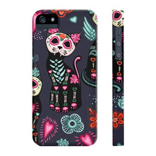 Load image into Gallery viewer, Phone cases for cat lovers, Skeleton Cat Phone Case