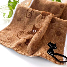 Load image into Gallery viewer, Cute cat themed home decor, Soft Kitten Kitchen Towel