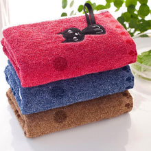 Load image into Gallery viewer, Cat towel, Soft Kitten Kitchen Towel