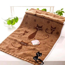 Load image into Gallery viewer, Cat kitchen accessories, Soft Kitten Kitchen Towel