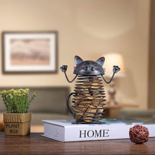 Load image into Gallery viewer, Cat Gifts for Him, Spring Cat Cork Container