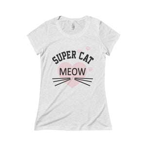 Womens Cat shirt, Super Cat Tee