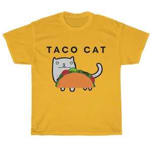 Funny Cat Themed Gifts, Taco Cat Shirt