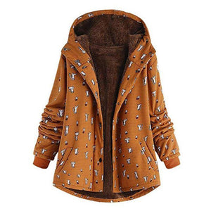 Cat Themed Gifts, Women's Cat Print Jacket