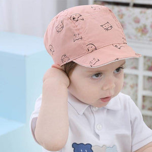 Cat Baby Clothes, Winking Kitten Sun Hat, Cat Hat for Kids