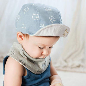 Cat Themed Clothing, Winking Kitten Sun Hat, Cat Clothes for Kids