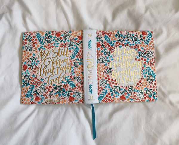 A Floral Story ESV Journaling Bible