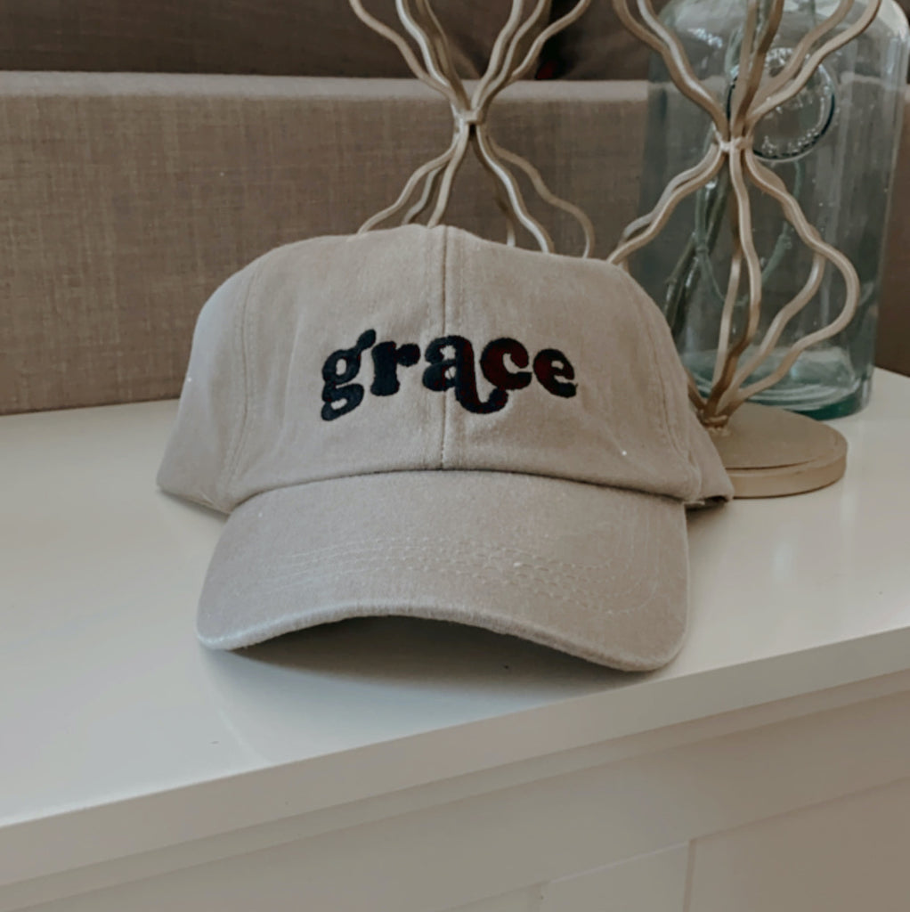 Grace Embroidered Hat
