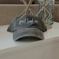 Spirit Lead Me Embroidered Hat