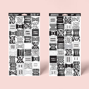 Black and White Bible Tabs