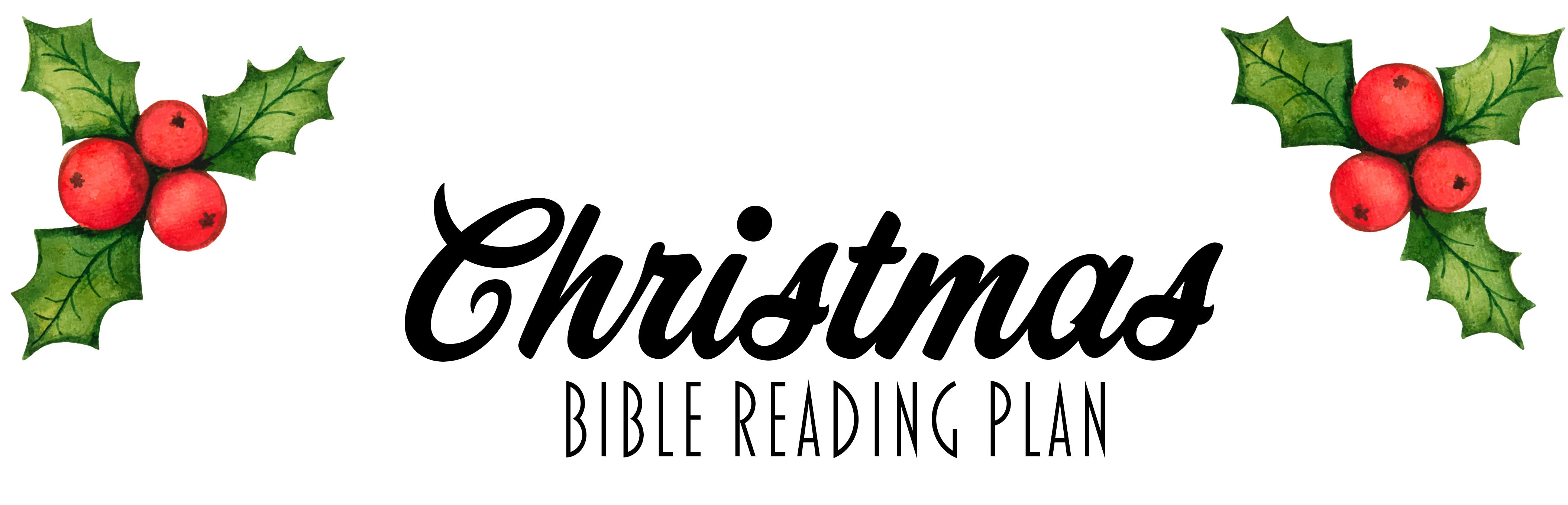2018 Christmas Reading Plan - Bibles and Coffee