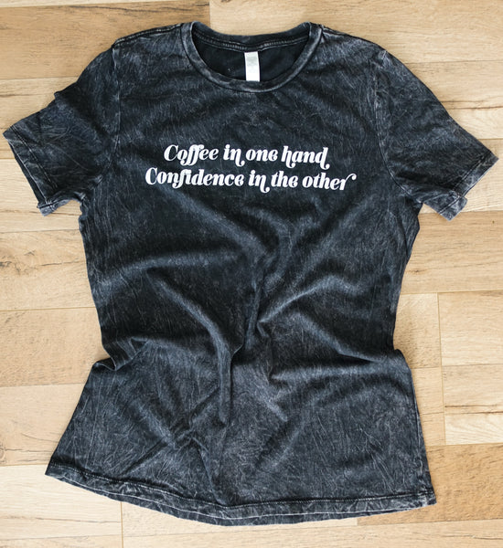 Coffee & Confidence - Women's T-Shirt