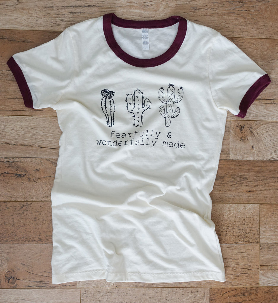 Fearfully & Wonderfully Made - Women's T-Shirt