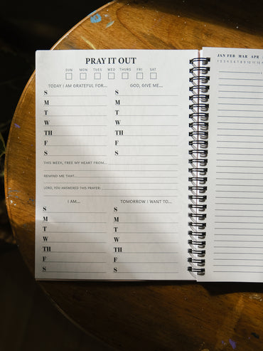 Pray It Out Journal - Coffee Aroma